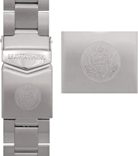 Marathon Watch Military Grade Stainless Steel Bracelets (Available in 18mm / 20mm / 22mm)