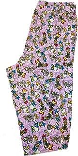 One Size OS Disney Daisy Duck Posing Leggings fits Sizes 2-10