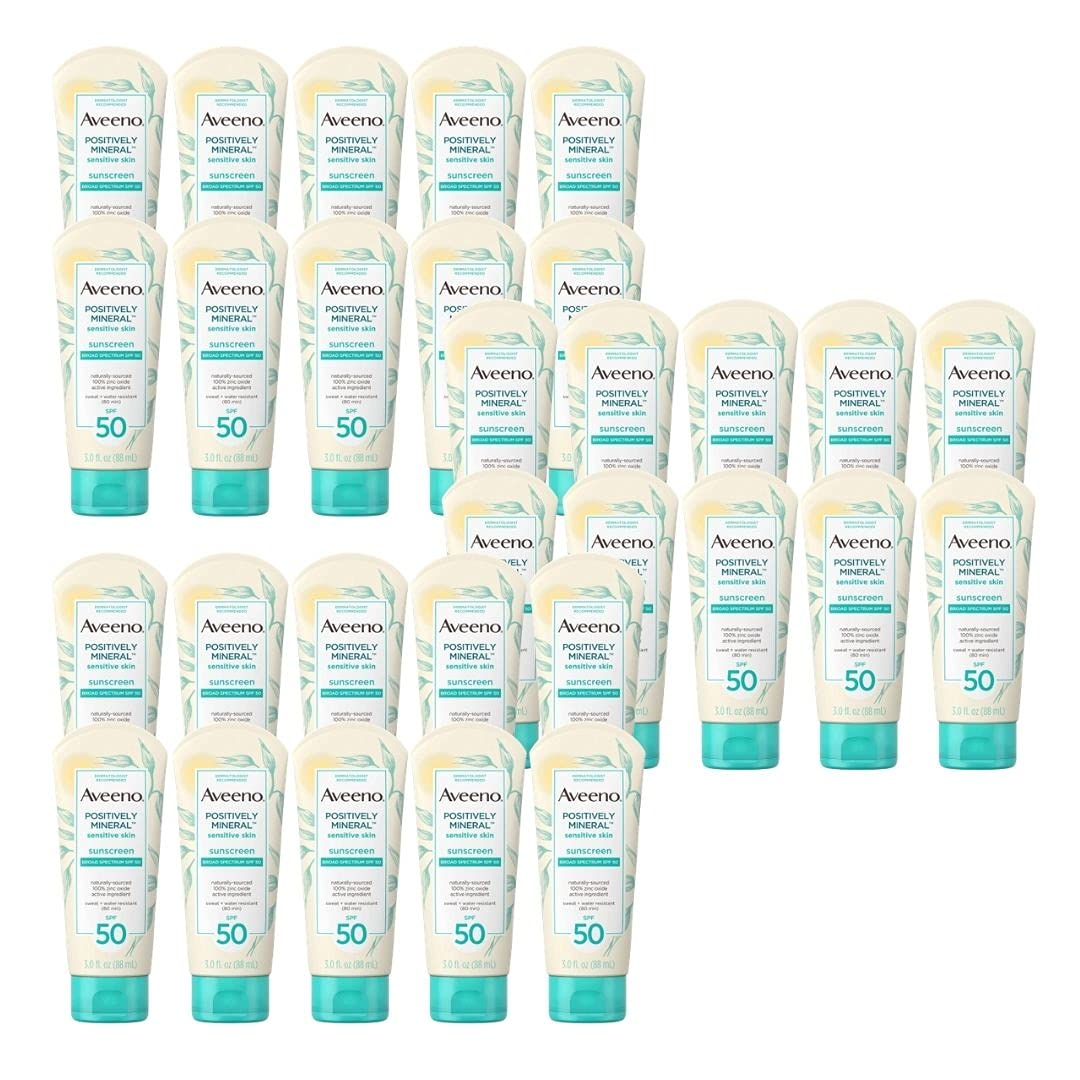 It is very popular Positively Mineral Sensitive Limited price Skin Daily Unscen Sunscreen Lotion