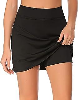 COOrun Women's Sports Skirt with Shorts Active Athletic Skort Lightweight Tennis Golf Skirt Running Workout Skort