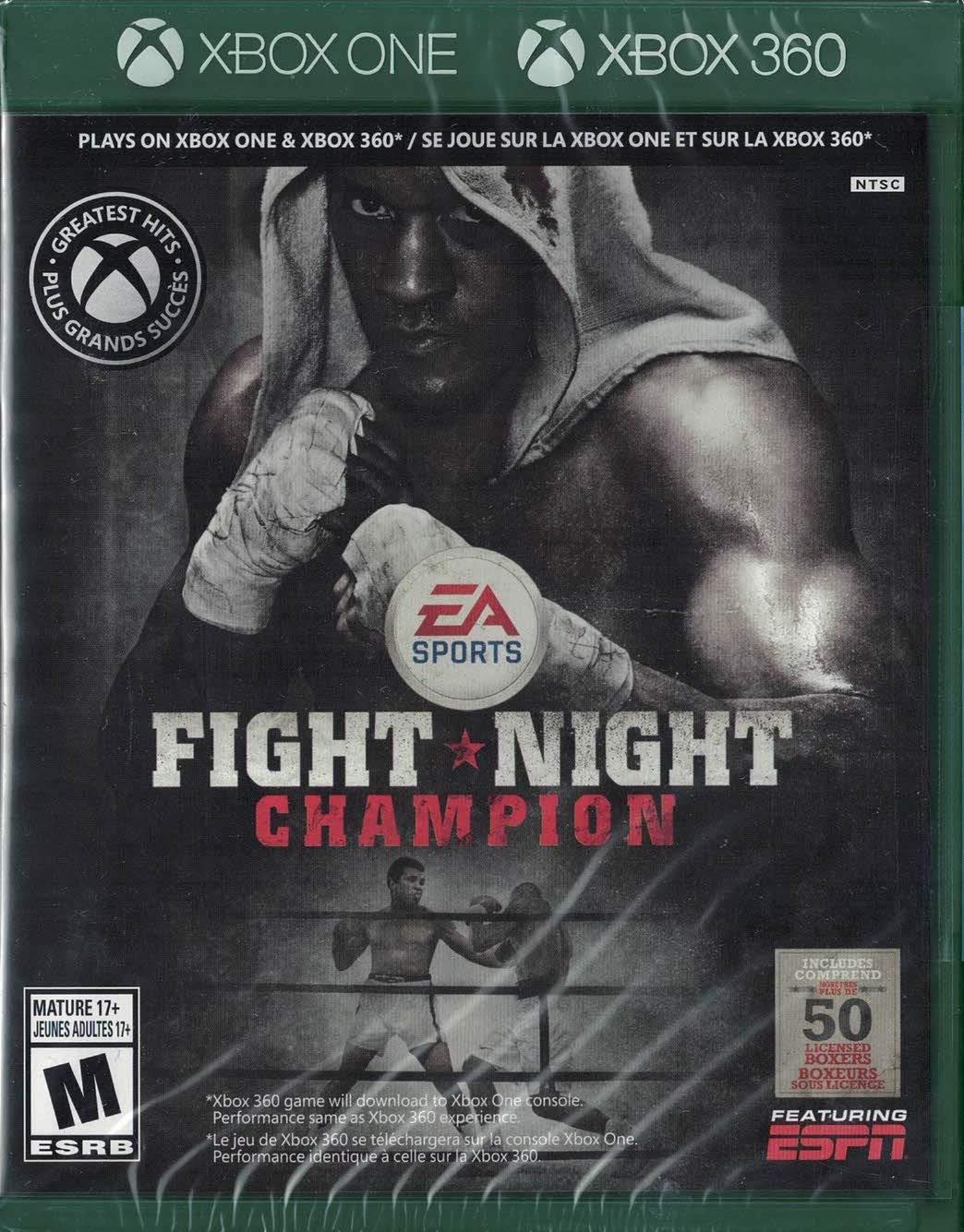 Fight Night Champion - One High Topics on TV order 360 Xbox