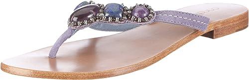 Coral Blau CB C 211203 CB C 211203 - Sandalias de Vestir de Cuero para damen