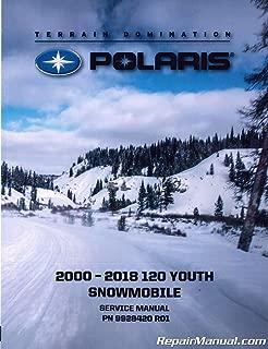 9928420 2000-2018 Polaris Youth 120 Snowmobile Service Repair Manual