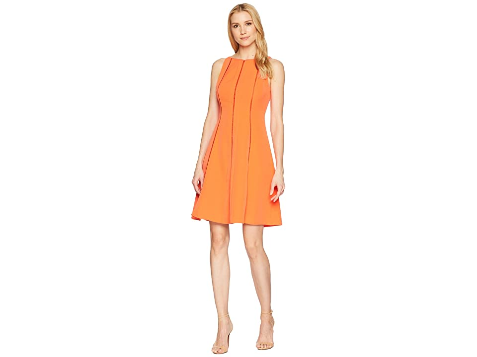 Maggy London Dream Crepe Fit Flare Dress (Koi) Women