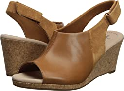 Tan Leather/Suede Combi
