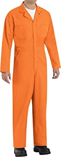 Red Kap mens CT10OR Work Utility Coveralls (pack of 1)