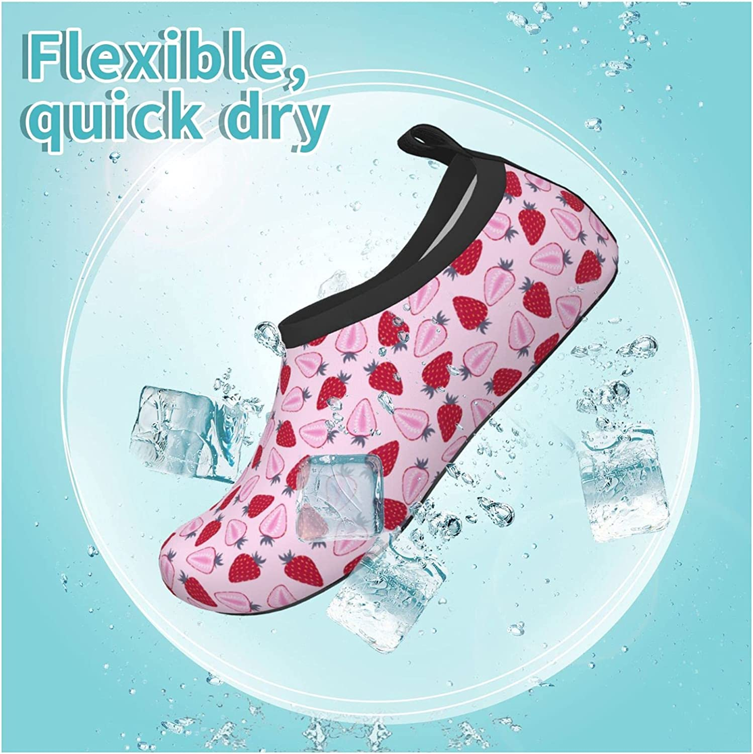 Jedenkuku Children's Water Shoes Feel Barefoot for Swimming Beach Boating Surfing Yoga