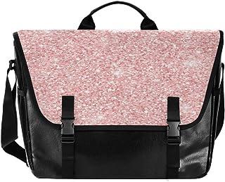 Bolso de lona con diseño de pétalos rosados para hombre y mujer, estilo retro, ideal para iPad, Kindle, Samsung