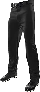 CHAMPRO MVP OB OpenBottom Loose-Fit Baseball Pant in Solid Color with Reinforced Double Knee