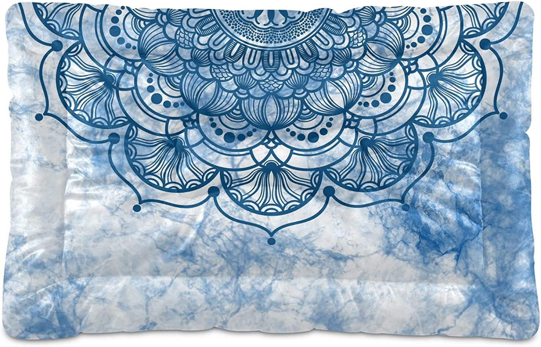 Soft Pet Dog Cat Bed Mat Graphic Ranking TOP20 with Mandala Tulsa Mall Print Cute Pa