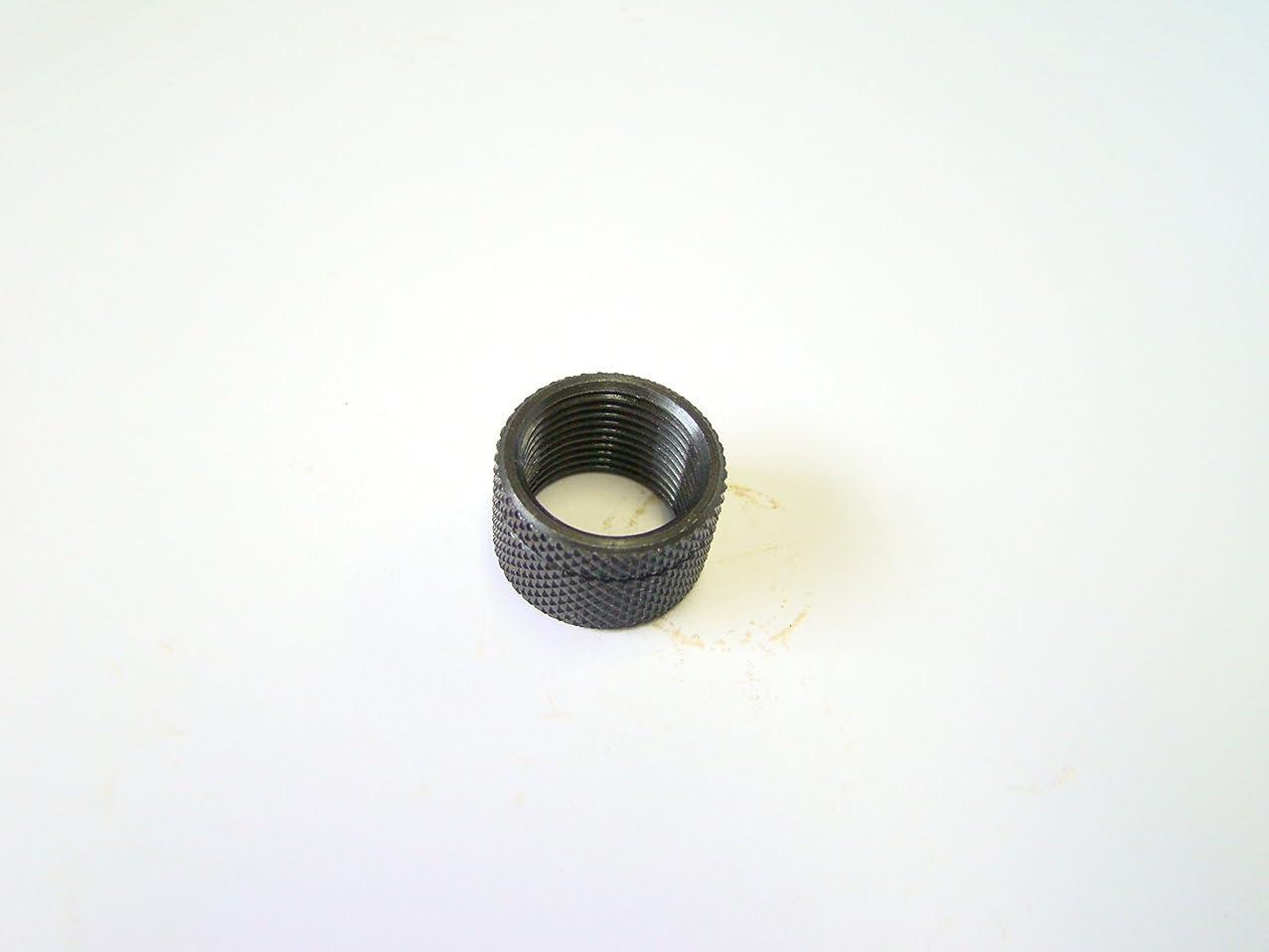 1/2-28 thread protector Black knerled .400 long