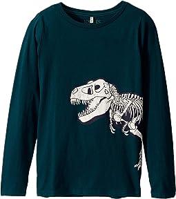 Green Dino Skeleton