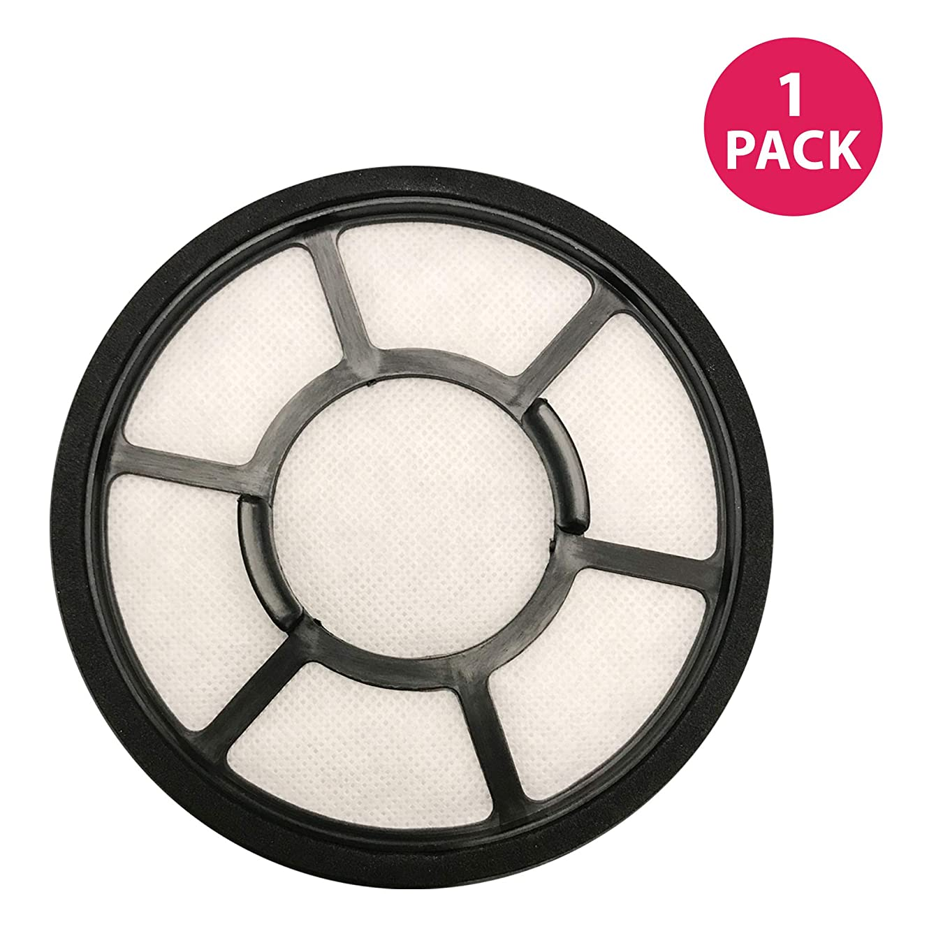Think Crucial Replacement Air Filters Compatible with Black & Decker 5.5 x 5.5 x 1 Circular Pre Filter Part, Fits Vacuum Cleaner Model Parts BDASV102 Airswivel Vacuum Cleaners (1 Pack)