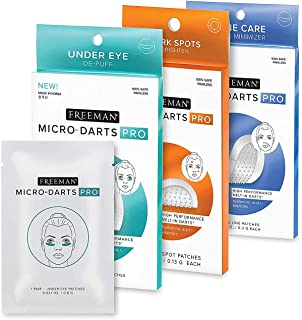 Freeman Beauty Micro-Darts PRO Korean Skincare Variety Set, Undereye Patches, Dark Spot Remover, and Face Wrinkle Patches,...