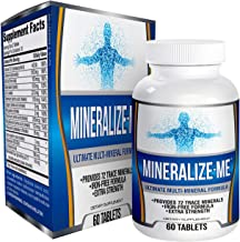 All-in-1 Multi Mineral Supplement Formula (Iron Free) - Minerals - Supplements - Natural Multiminerals - Multimineral Comp...