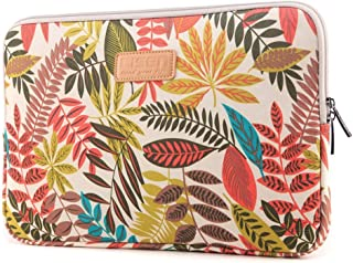 Prime Clearance Sale & Deals Day 2017-Valentoria® 15.6 Inch Laptop Sleeve Case-Colorful Vintage Leaves Style Ultrabook Sleeve Macbook Bag For Acer/Asus/Dell/Toshiba/Lenovo/Macbook Pro/Macbook Air