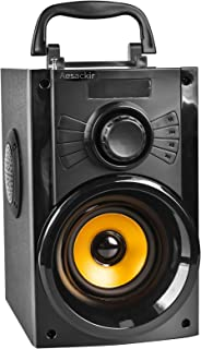 $43 » Aesackir Portable Bluetooth Speaker with Subwoofer Rich Bass Wireless Speaker Outdoor/Indoor Party Speakers MP3 Player Pow...