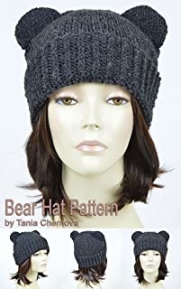 Bear Hat Pattern Knit Animal Hat Bonnet Femme Mickey Mouse Hat Bear Beanie Mickey Ears Womens Hat Disney Ears Beanie Knitting Pattern Beanie With Ears ... Ears Disney Hat Winter Hat (English Edition)