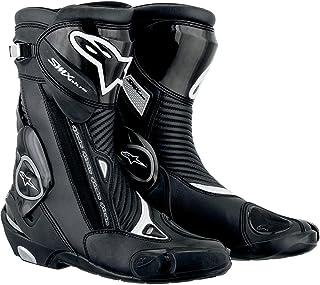 2710112-21-11 White//Black Size-11 Tech 1-T Shoes Alpinestars