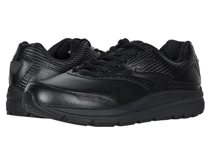 Brooks  Addiction Walker 2 (Black/Black) Mens Walking Shoes