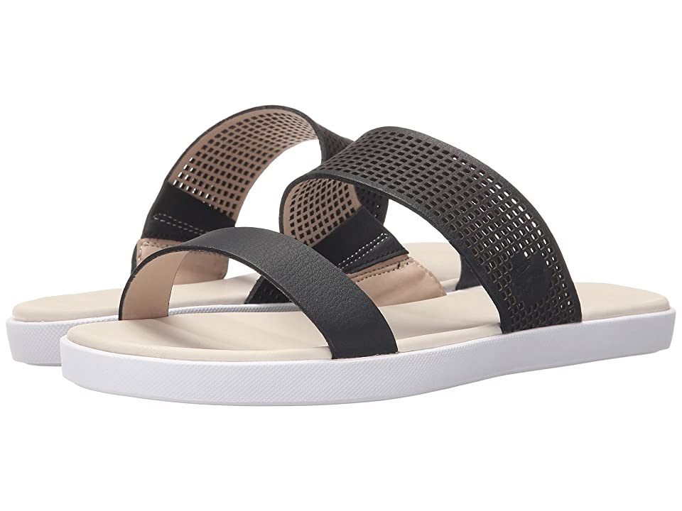 Lacoste Natoy Slide 216 1 (Black/Natural) Women