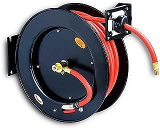 REELWORKS Air Compressor Hose Reel Retractable 3/8