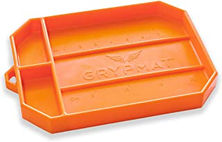 Grypmat Pro | Non-Slip Flexible Orange Tool Tray | Tool Box Organizer | Socket Organizer | Tool Holder | Tool Mats | No Ma...