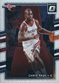 2017-18 Donruss Optic #52 Chris Paul Houston Rockets Basketball Card