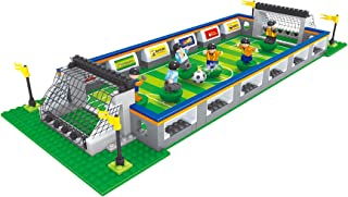 BRICK-LAND Sports Soccer Toy Soccer Stadium Includes...