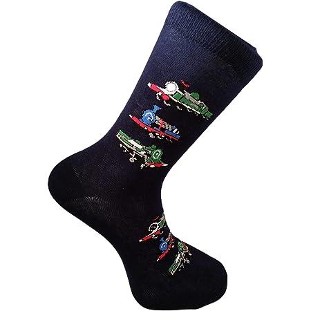 British Steam Trains Unisex Novelty Ankle Adult UK Size 6-11 Socks