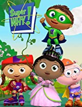 Super Why: Coloring Book Amazing Coloring Book With 30 High Quality Images