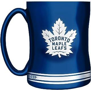 NHL Toronto Maple Leafs Sculpted Mug, 14-Ounce