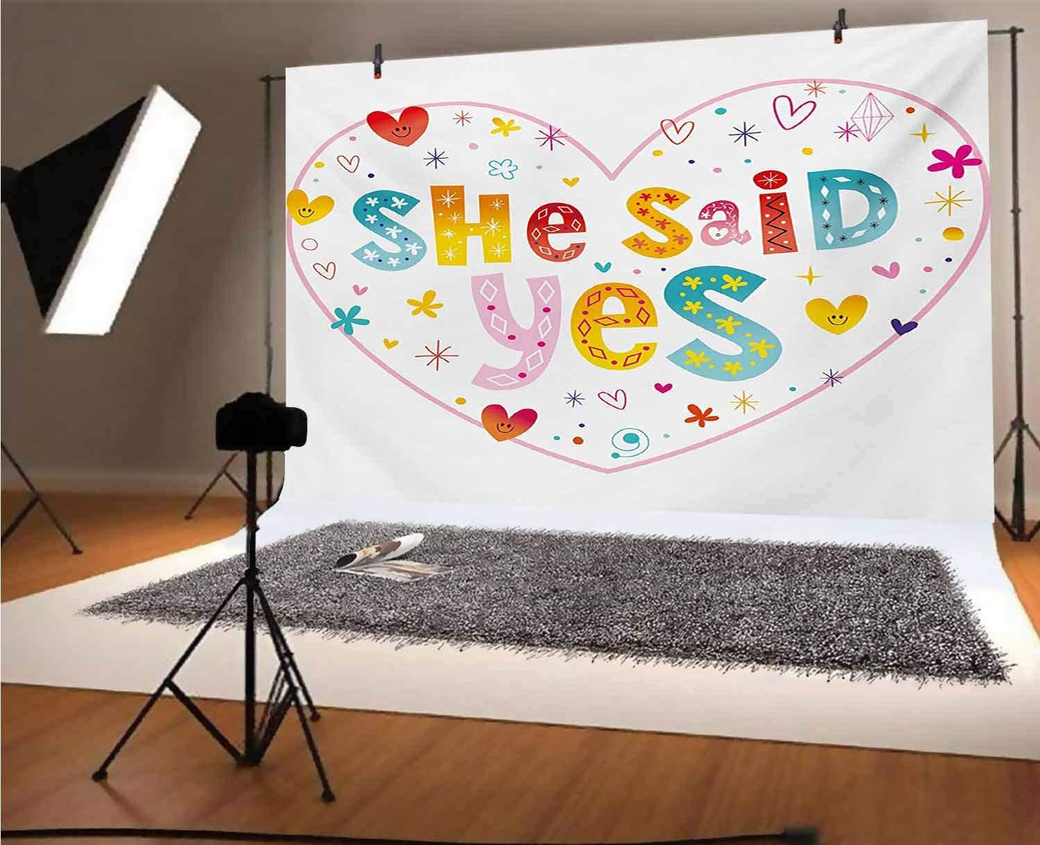 Vintage 15x10 FT Vinyl Backdrop PhotographersHand Lettering on a Grunge Design Inspired Background Motivational Slogan Background for Party Home Decor Outdoorsy Theme Shoot Props