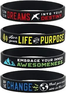 (12-Pack) Inspirational Bracelets Assortment Mix -
