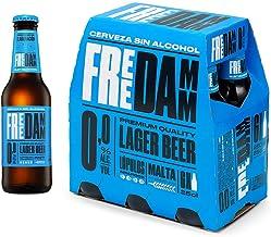 Cerveza Sin Alcohol Free Damm Pack de 6 Botellas 25cl