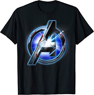 Marvel Avengers Endgame Tech Logo Graphic T-Shirt T-Shirt