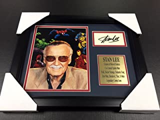 stan lee autographed spider man