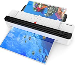 A3 Laminator Machine, Rapid 1.5 Minute Warm-up Thermal Laminating Machine with Trimmer for Home Office School Use with 50 Pouches and Corner, Support 3Mil 5 Mil, 12.5'' Max Width Laminating