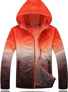Dormery Coat New Summer Sunscreen Coat Jacket Unisex Windbreaker Waterproof Thin Hooded Zipper Quick Drying