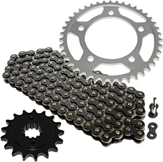 CALTRIC Black Drive Chain and Sprocket Kit Fits HONDA VT750C Shadow ACE 750 1998-2003