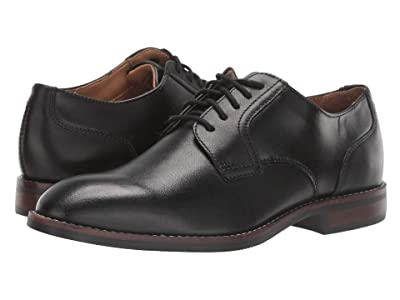 Nunn Bush Fifth Ave Plain Toe (Black) Men