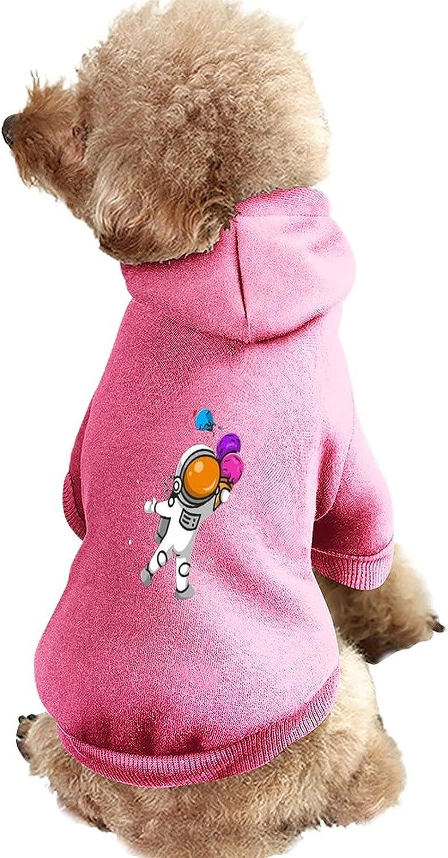 Pup Dog Hoodie Pet Cute Astronaut Cream Max 47% OFF Holding Ice OFFer Cartoon Cone