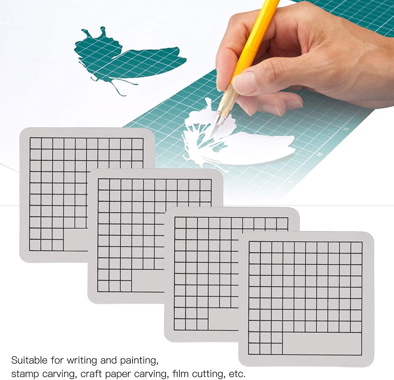 Home Cutting Mats 4Pcs Cutting Mat 6 x 6cm Mini Cute Model Cut Pad ...