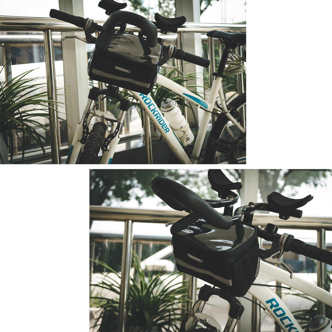 Roswheel Bolsa de Manillar de la Bicicleta Bolsa de la Bicicleta ...