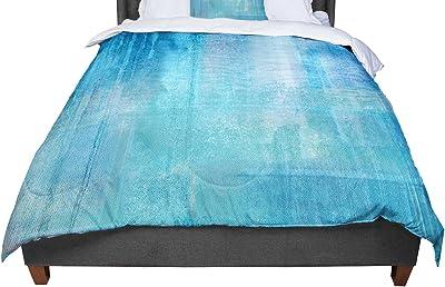 KESS InHouse Gabriela Fuente California Dream Rainbow Abstract Twin Comforter 68 X 88