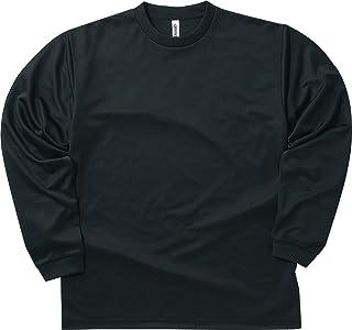 [グリマー] 長袖 4.4オンス ドライ ロングスリーブ Tシャツ [クルーネック] 00304-ALT ボーイズ