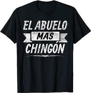 El Abuelo Mas Chingon; Grandpa Spanish shirt
