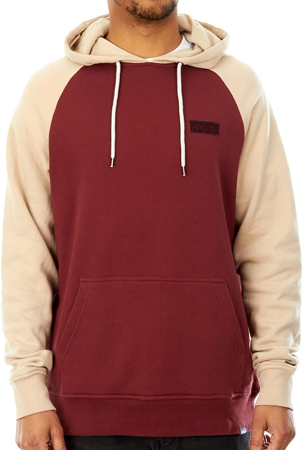 1886cadfc4a64 Etnies Burgundy Corp Box Hoody nnvxyp3349-New Clothing - www ...