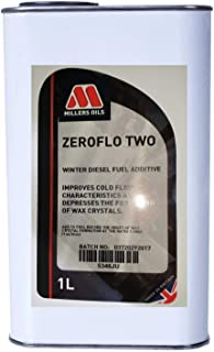 Millers Oil Zeroflo Twee, Winter Diesel Brandstof Additive, 1 liter