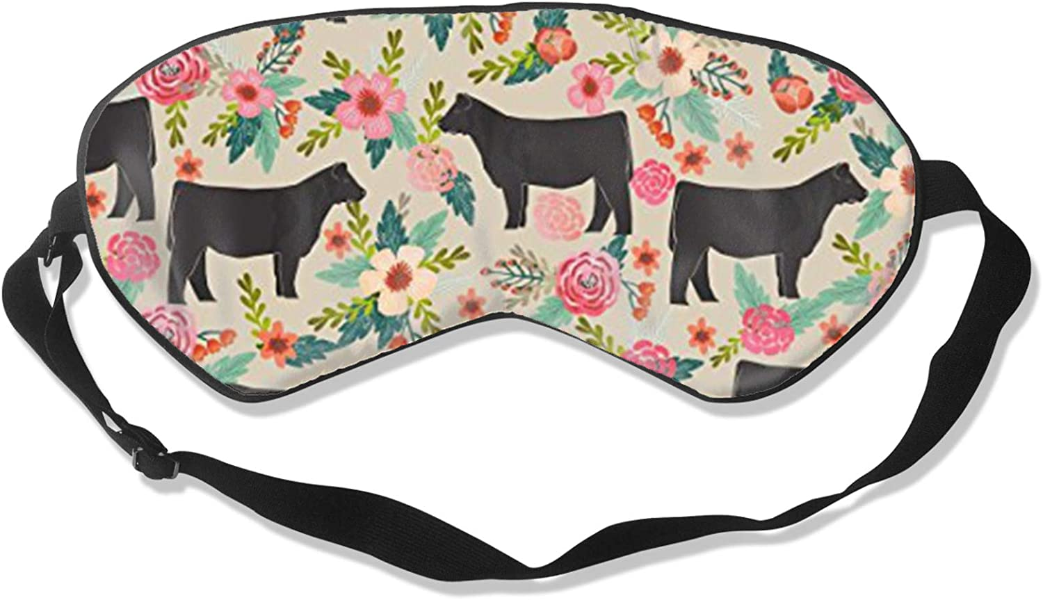 Eye Mask Cows Farm Barn Florals Eyeshade for Sleep N Travel Ranking TOP10 We OFFer at cheap prices